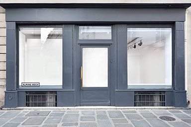 Almine Rech Gallery Paris Front Space
